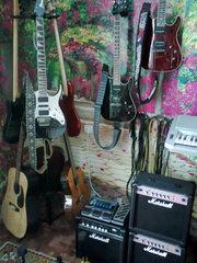 Обучение игре на гитаре,  гитара для начинающих